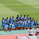 [子供とお出かけ]FC大阪 vs Honda FC!JFLの優勝争いをしているサッカー観戦を楽しみました!