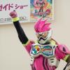 [子供とお出かけ]イオンモール鶴見緑地に「仮面ライダーエグゼイド」のキャラクターショーを見に行ってきた!
