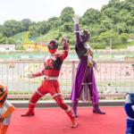 [子供とお出かけ]関西サイクルスポーツセンターに「キュウレンジャー」スペシャルキャラクターショーに行ってきた!