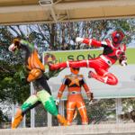 [子供とお出かけ]園田競馬に「キュウレンジャー」のキャラクターショーに行ってきた!