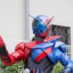 [子供とお出かけ]花博記念公園ハウジングガーデンに「仮面ライダービルド」のキャラクターショーに行ってきた!