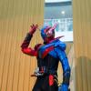 [子供とお出かけ]イオンモール茨木に「仮面ライダービルド」のキャラクターショーを見に行ってきた!