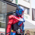 [子供とお出かけ]堺区ふれあいまつりに「仮面ライダービルド」のキャラクターショーを見に行ってきた!